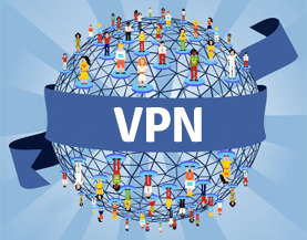 A virtual private network (VPN) extends a private network across a public network,